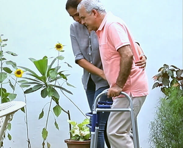 adults are unable to walk without support