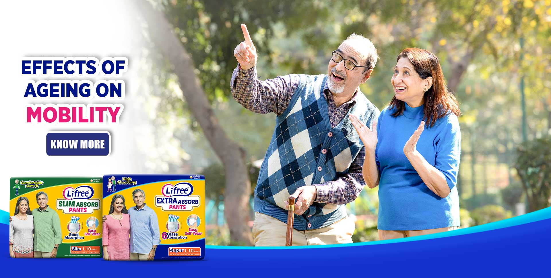 Lifree incontinence urine leakage products for adults